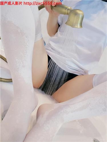 WB蘿$莉網紅-千歲嬌-VIP視圖包-濕身體操服白絲